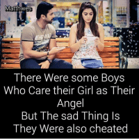 Memes, Angel, and Girl: Matthwes  There Were some Boys  Who Care their Girl as Their  Angel  But The sad Thing Is  hey Were also cheated
