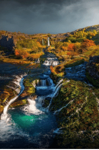 Instagram, Taken, and Tumblr: maureen2musings:   Iceland dressed in Autumn colors     simona_br_photography