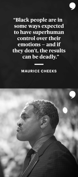 Maurice Cheeks reflects on the police encounter that could have changed his life.   📝: https://t.co/Bt4bmp2z8f https://t.co/GF4dlXarRM: Maurice Cheeks reflects on the police encounter that could have changed his life.   📝: https://t.co/Bt4bmp2z8f https://t.co/GF4dlXarRM