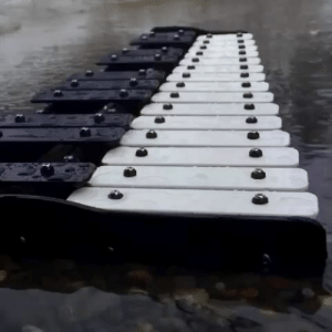 Target, Tumblr, and Blog: maxiesatanofficial:  this is lovely but where does one even get the idea to plop a xylophone in the creek
