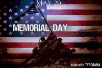 May 29, 2017 – MEMORIAL DAY – NATIONAL PAPERCLIP DAY – NATIONAL COQ AU VIN DAY memorialday: MAY 20  MEMORIAL DAY  made with TYPORAMA May 29, 2017 – MEMORIAL DAY – NATIONAL PAPERCLIP DAY – NATIONAL COQ AU VIN DAY memorialday