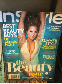 """lily rose: MAY 2017  BEST  """"I was always  really confident""""  BEAUTY  AMY SCHUMER  BUYS  I40  SUMMER  GENIUS  STYLE  PICKS  COOL PIECES  TO LOOK HOT  Pretty  LILY ROSE TO  Fabulous  BROOKE SHIELDS  SECRETS OF  HOW TO OWN  GORGEOUS  YOUR STYLE  WOMEN  ns  UE  Issue  that  s 5.99 US S7.99 CAN  O 5  unch  E GOT THE LIPSTICK)  BEYOURSEL 70983 10643 1  IN STYLE COM"""