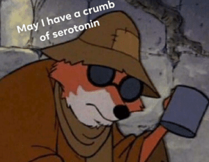 Dank, Memes, and Target: May I have a crumb  of serotonin meirl by Porpoiscide MORE MEMES