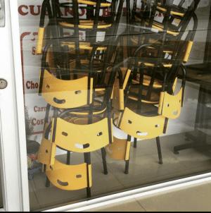 May I present to you the happiest chairs ever: May I present to you the happiest chairs ever