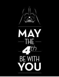 May the 4th be with you!  #mdib #may4th #starwars -Celtic Kitty: MAY  THE  4th  BE WITH  YOU May the 4th be with you!  #mdib #may4th #starwars -Celtic Kitty