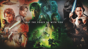 Nostalgia, Star Wars, and Star: MAY THE FORCE BE WITH YOU  EGAC Star Wars Wallpaper depicting all the nostalgia