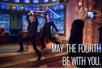 May the Fourth: MAY THE FOURTH  BE WITH YOU  Lloyd Bishop,MBC