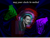 "Reddit, Com, and May: may your clocks be melted <p>[<a href=""https://www.reddit.com/r/surrealmemes/comments/89zwtm/salvador_clocc/"">Src</a>]</p>"