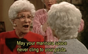Never, Sauce, and Wwii: May your marinara sauce  never cling to vour pasta Mussolini addresses his troops before sending them to battle in WWII (circa 1939, colorized)