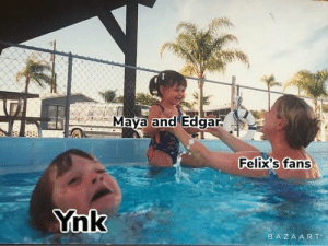 For the people that don't know who Ynk was (pronounced ink) she was pewdiepies old Yorkshire terrier who belonged to his parents, sadly ynk died in February 27th 2018, I never saw or have seen a meme with ynk involved so I made one, enjoy 😊: Maya and Edgar.  Felix's fans  Ynk  BAZAAR T For the people that don't know who Ynk was (pronounced ink) she was pewdiepies old Yorkshire terrier who belonged to his parents, sadly ynk died in February 27th 2018, I never saw or have seen a meme with ynk involved so I made one, enjoy 😊