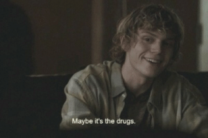 Drugs, Tumblr, and Blog: Maybe it's the drugs. thunder:    via weheartit