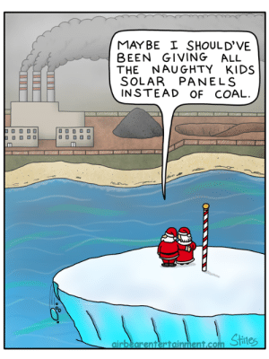Kids, Space, and Naughty: MAYBE SHOULD'VE  BEEN GIVING ALL  THE NAUGHTY KIDS  SOLAR PANELS  INSTEAD OF COAL. Cap Space