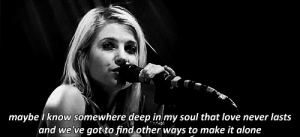 https://iglovequotes.net/: maybeknow somewhere deep in my soul that love never lasts  and we've got to find other ways to make it alone https://iglovequotes.net/