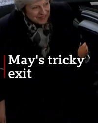 Memes, Politics, and Germany: May's tricky  exit A tricky exit? Theresa May appears to have trouble with her car door before Brexit talks in Berlin. This, a day after the British PM scrapped a key vote because knew she couldn't get it through Parliament. Tap the link in our bio for more. germany uk politics badday bbcnews