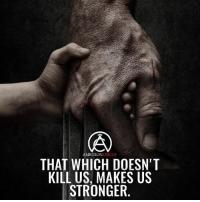 Memes, 🤖, and Double: MBITION  CIRCLE  THAT WHICH DOESN'T  KILL US, MAKES US  STRONGER What doesn't kill you makes you stronger! - DOUBLE TAP IF YOU AGREE!