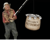 You, You Gotta, and You Almost Had It: MCCABE's  RETIREMENT You almost had it McCabe, you gotta be quicker than that!