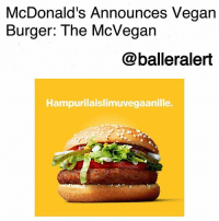 McDonald's Announces Vegan Burger: The McVegan-blogged by @thereal__bee ⠀⠀⠀⠀⠀⠀⠀⠀⠀ ⠀⠀ McDonald's is all about trying new things and now the international fast food chain has announced their latest addition: the McVegan. ⠀⠀⠀⠀⠀⠀⠀⠀⠀ ⠀⠀ The company announced that they are doing a test release of the McVegan in Tampere, Finland. The burger includes a soy-based patty with some vegan friendly toppings. The test release will extend through November 21. ⠀⠀⠀⠀⠀⠀⠀⠀⠀ ⠀⠀ If things go well overseas, the U.S. could expect to get their hands on this new item pretty soon. ⠀⠀⠀⠀⠀⠀⠀⠀⠀ ⠀⠀ What do you think about the McVegan?: McDonald's Announces Vegan  Burger: The McVegan  @balleralert  Hampurilaislimuvegaanille. McDonald's Announces Vegan Burger: The McVegan-blogged by @thereal__bee ⠀⠀⠀⠀⠀⠀⠀⠀⠀ ⠀⠀ McDonald's is all about trying new things and now the international fast food chain has announced their latest addition: the McVegan. ⠀⠀⠀⠀⠀⠀⠀⠀⠀ ⠀⠀ The company announced that they are doing a test release of the McVegan in Tampere, Finland. The burger includes a soy-based patty with some vegan friendly toppings. The test release will extend through November 21. ⠀⠀⠀⠀⠀⠀⠀⠀⠀ ⠀⠀ If things go well overseas, the U.S. could expect to get their hands on this new item pretty soon. ⠀⠀⠀⠀⠀⠀⠀⠀⠀ ⠀⠀ What do you think about the McVegan?