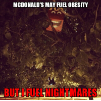 MCDONALD'S MAY FUEL OBESITY I'm done with fast food