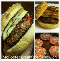 McFoster Breakfast Sandwich All Ingredients Are DrSebi Approved