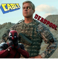 Memes, 🤖, and Yes: MCMAHON  POOL From @updates_in_cinema_v2.0 - RUMOR! I'm skeptical about this one, but the hot new rumor is that BRAD PITT is set to play CABLE in the DEADPOOL sequel! Am I doubtful? Yeah. Do I desperately want this to be true? HELL YES! Regardless, we should have a casting announcement very soon so stay tuned! ● ● ● deadpool ryanreynolds mercwithamouth wadewilson funny lol laugh hilarious lmfao bradpitt rumor cable casting new news cool friends time watch marvel movies movienews film movie updatesincinema