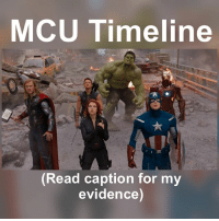 "Frozen, Iron Man, and Ironic: MCU Timeline  A,  Read caption for my  evidence) I've gathered evidence for this theory 1) CA:TFA takes place from 1942-1945. Cap was frozen in ice in 1944 (More later) 2) Iron Man. Happy said (SMH), ""....since 2008."" 3)Hulk takes place after the events of Iron Man, which is about a yr, bc he was captive in the cave for like a few months, plus there's his time as Tony before that, and Tony was off the news for like a few months to build his Iron Man Suit. Putting the end of the movie towards the end of 2008 3)Cap waking up. So CA:TFA takes place from 1942-1945. This makes you think Cap freezes in 1945, but after they show the war ending. Which isn't right, he was frozen in 1944. Cap says in SMH he was frozen for 65 yrs 1944+65=2009 Also you see his Shield in IM2 4)IM2 starts with Hammer trying to get Tony's suit. Now this is likely to happen just after Iron Man is revealed, and that was like close to a yr 5)Thor is directly after IM2, bc of the end scene. Nick even says he's got other things to do in IM 2, and it was confirmed, that Hulk, Thor, and IM 2 all happen in the same week 6)Avengers. Now Dr. Selvig can't have been working on the tesserac too long, at least a few months. Plus Loki would have disappeared for like a few months too. It's also safe to assume, 8 yrs later in SMH that it's 2009 since Marvel said SMH is in 2017 7)Iron Man 3. Now Killian says 13 yrs ago, he met Tony in 1999, so that would put it at 2012. Also Tony couldn't have built all those suits in a few months, it would've taken 3 yrs at least 8)Thor 2 would've been from 2009-2013. The imprisonment of Loki, then 4 yrs of Thor restoring order to the 9 realms. This would also explain why Jane is mad. He was gone 4 yrs 9)CA:TWS The Helicarriers took time to build, and Stark helped, plus they were cleaning it up (SMH) 10-11)GOTG 1&2 both happen in 2014, said by James Gunn 12)AOU is one yr before CW, and it would've been a yr to raid EVERY base 13)AM refers to AOU 14)CW Vision says ""8 yrs....announced as Iron Man."" 15) DS probably starts after IM2 with the pilot, training, and then the end fight 16) SMH is 2017 bc 8 yrs after Avengers. The dance would also be the end of Xmas break, bc the decathlon in Oct (Ned's poster) Comment your thoughts"