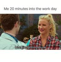 Is it Friday yet? 🍸🍸🍸@bigkidproblems: Me 20 minutes into the work day  feellike getting drunke Is it Friday yet? 🍸🍸🍸@bigkidproblems