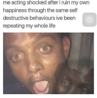 me acting shocked after i ruin my own  happiness through the same self  destructive behaviours ive been  repeating my whole life OH MY GOD OKAY SO LIKE I WAS WATCHING LIKE A FEW VIDS OF YURIO SNEEZING (don't ask why) AND LIKE NOW LIKE ASMR IS IN MY RECOMMEND LIST ON YT ANS MY FRIEND THINK I HAVE AN ASMR KINK IM~Mya
