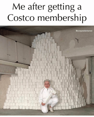 44 Funny Memes For You If You Desperately Need A Laugh - JustViral.Net: Me after getting a  Costco membership  @acceptablememes 44 Funny Memes For You If You Desperately Need A Laugh - JustViral.Net