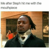 Blackpeopletwitter, Via, and Hit: Me after Steph hit me with the  mouthpiece <p>I want a hunnit and fithy THOUSAND! (via /r/BlackPeopleTwitter)</p>