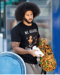 Colin Kaepernick took it all the way back to 1995 this week with a Tupac shirt that reads 'Me Against the World.' colinkaepernick tmz tmzsports: ME AGAINS Colin Kaepernick took it all the way back to 1995 this week with a Tupac shirt that reads 'Me Against the World.' colinkaepernick tmz tmzsports