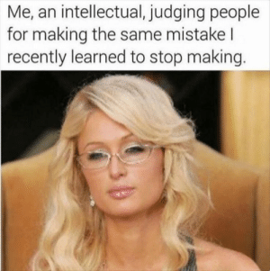 Intellectual Judging