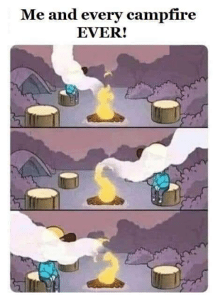 meirl: Me and every campfire  EVER! meirl