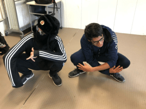 Spirit, Slav, and All The: Me and my friend with all the slav spirit