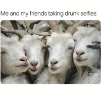 Cute, Drunk, and Friends: Me and my friends taking drunk selfies *eyes closed* *makeup smudged* *hair a mess* omg sooooo cute send me that!