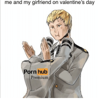 Porn Hub, Valentine's Day, and Porn: me and my girfriend on valentine's day  Porn hub  Premium meirl