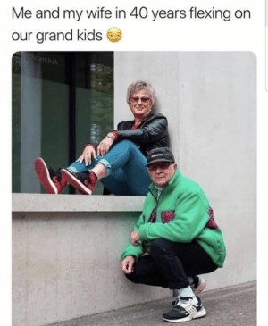 https://t.co/bPkxhz1ylM: Me and my wife in 40 years flexing on  our grand kids  zuerich.ch https://t.co/bPkxhz1ylM
