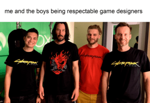 Game, Boys, and Pin: me and the boys being respectable game designers  yfer pIN  SyborFUINK  2-07 7  20  Siaagh Breathtaking