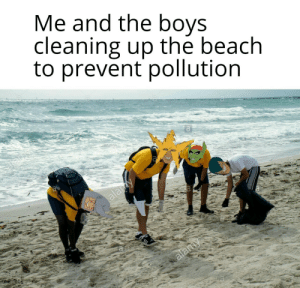 Beach, Boys, and The Beach: Me and the boys  cleaning up the beach  to prevent pollution  alay  salamy lets save our oceans