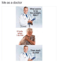 Me As A Doctor