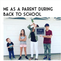 Back to School: ME AS A PARENT DURING  BACK TO SCHOOL  felicia  ansD
