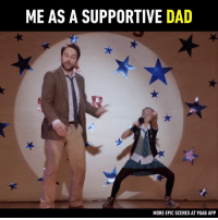9gag, Dad, and Dank: ME AS A SUPPORTIVE DAD  MORE EPIC SCENES AT 9GAG APP 🔊 you as a parent.  Fist Fight