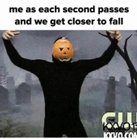 my spooky body is ready: me as each second passes  and we get closer to fall my spooky body is ready