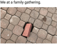 Family, Gathering, and Family Gathering: Me at a family gathering