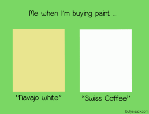 Me at the paint store … [OC]: Me at the paint store … [OC]