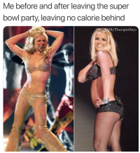 Guac runs through my veins now Superbowl: Me before and after leaving the super  bowl party, leaving no calorie behind  MvTherapistSavs Guac runs through my veins now Superbowl