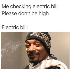 meirl: Me checking electric bill:  Please don't be high  Electric bill:  ABTMIN meirl