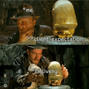 Expectation, Client, and Delivery: me.  client-expectation  Delivery Client expectations