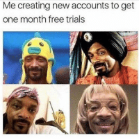 Hahaha, this shit is too funny! If you hate Weed don't follow @jared.mirsky: Me creating new accounts to get  one month free trials Hahaha, this shit is too funny! If you hate Weed don't follow @jared.mirsky