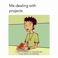 😎😎😎: Me dealing with  projects  donot believe in deadlines  They stifle creativity 😎😎😎