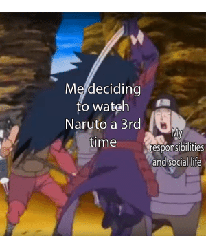 25+ Best Naruto Memes | Naruto Reddit Memes, Naruto Pictures